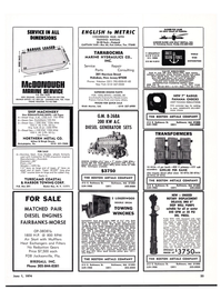 Maritime Reporter Magazine, page 54,  Jun 1974