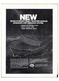Maritime Reporter Magazine, page 4th Cover,  Jun 1974
