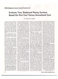 Maritime Reporter Magazine, page 12,  Jul 1974 sible seawater piping systems