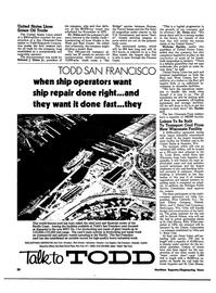Maritime Reporter Magazine, page 14,  Jul 1974
