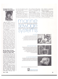 Maritime Reporter Magazine, page 17,  Jul 1974 the New York World