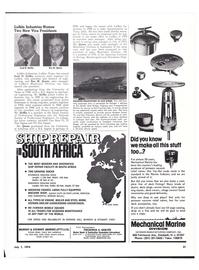 Maritime Reporter Magazine, page 24,  Jul 1974