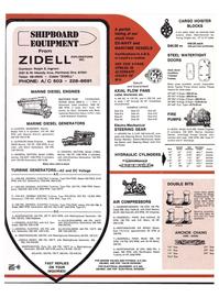 Maritime Reporter Magazine, page 38,  Jul 1974 Steering Winch