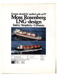 Maritime Reporter Magazine, page 4th Cover,  Jul 1974 Italy