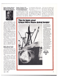 Maritime Reporter Magazine, page 7,  Jul 1974