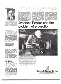 Maritime Reporter Magazine, page 17,  Jul 15, 1974
