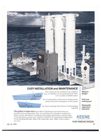 Maritime Reporter Magazine, page 19,  Jul 15, 1974 Keene Corporation