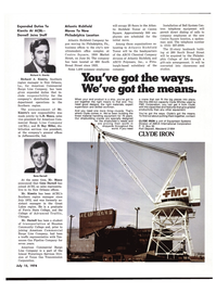 Maritime Reporter Magazine, page 33,  Jul 15, 1974