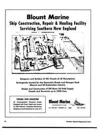 Maritime Reporter Magazine, page 36,  Jul 15, 1974 Marine Corporation