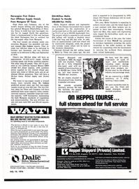 Maritime Reporter Magazine, page 45,  Jul 15, 1974
