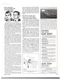Maritime Reporter Magazine, page 51,  Jul 15, 1974