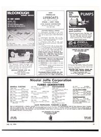 Maritime Reporter Magazine, page 53,  Jul 15, 1974