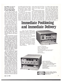 Maritime Reporter Magazine, page 5,  Jul 15, 1974 communications systems