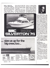 Maritime Reporter Magazine, page 11,  Sep 1974