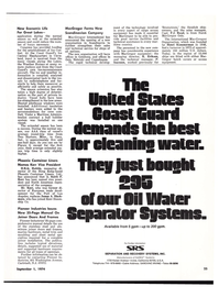 Maritime Reporter Magazine, page 21,  Sep 1974 Indiana