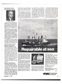 Maritime Reporter Magazine, page 25,  Sep 1974 New Jersey