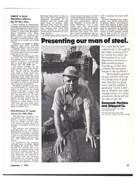 Maritime Reporter Magazine, page 29,  Sep 1974