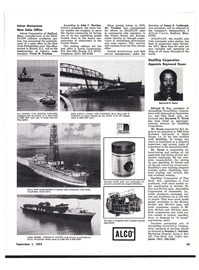 Maritime Reporter Magazine, page 35,  Sep 1974