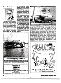 Maritime Reporter Magazine, page 36,  Sep 1974 New York