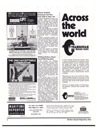 Maritime Reporter Magazine, page 2,  Sep 1974 California