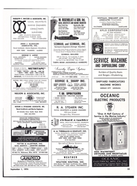 Maritime Reporter Magazine, page 47,  Sep 1974