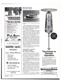 Maritime Reporter Magazine, page 49,  Sep 1974 Texas