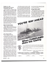 Maritime Reporter Magazine, page 51,  Sep 1974 South Pacific