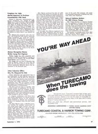 Maritime Reporter Magazine, page 53,  Sep 1974 South Pacific