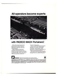 Maritime Reporter Magazine, page 3rd Cover,  Sep 1974 Port of Long Beach
