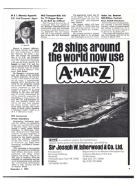 Maritime Reporter Magazine, page 7,  Sep 1974