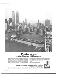 Maritime Reporter Magazine, page 9,  Sep 15, 1974