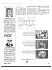 Maritime Reporter Magazine, page 17,  Sep 15, 1974