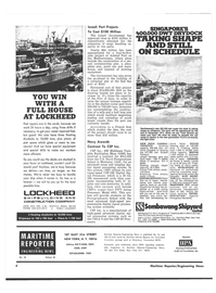 Maritime Reporter Magazine, page 2,  Sep 15, 1974