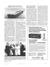 Maritime Reporter Magazine, page 39,  Sep 15, 1974