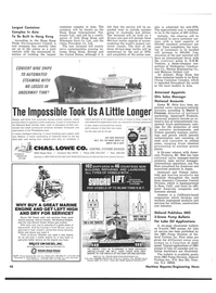 Maritime Reporter Magazine, page 42,  Sep 15, 1974