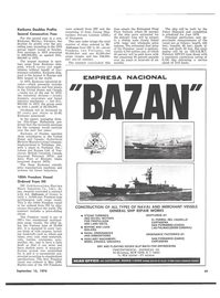 Maritime Reporter Magazine, page 45,  Sep 15, 1974