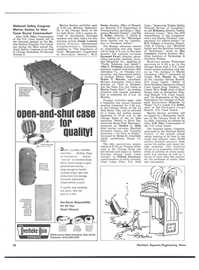 Maritime Reporter Magazine, page 46,  Sep 15, 1974