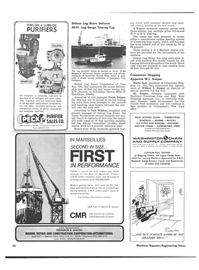 Maritime Reporter Magazine, page 49,  Sep 15, 1974