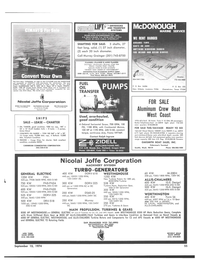 Maritime Reporter Magazine, page 52,  Sep 15, 1974
