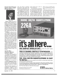 Maritime Reporter Magazine, page 7,  Sep 15, 1974