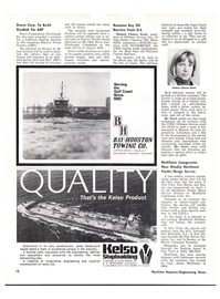 Maritime Reporter Magazine, page 10,  Apr 1976