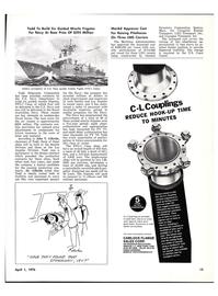 Maritime Reporter Magazine, page 11,  Apr 1976
