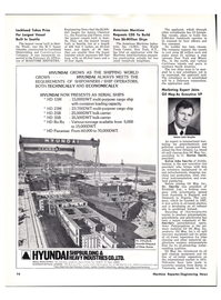Maritime Reporter Magazine, page 12,  Apr 1976
