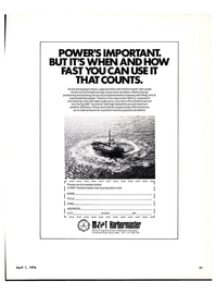 Maritime Reporter Magazine, page 19,  Apr 1976 Mathewson Corporation