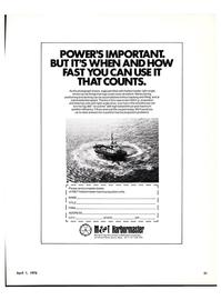 Maritime Reporter Magazine, page 19,  Apr 1976