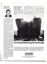 Maritime Reporter Magazine, page 23,  Apr 1976
