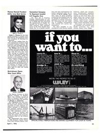 Maritime Reporter Magazine, page 31,  Apr 1976 Delaware