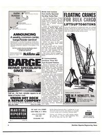 Maritime Reporter Magazine, page 2,  Apr 1976