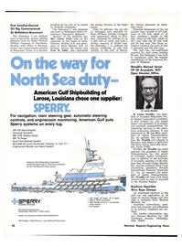 Maritime Reporter Magazine, page 40,  Apr 1976 New York