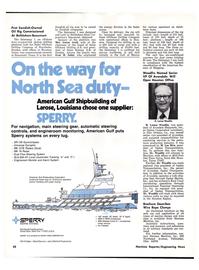 Maritime Reporter Magazine, page 40,  Apr 1976